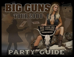 "2008 Outlaw ""Big Guns"" Calendar"