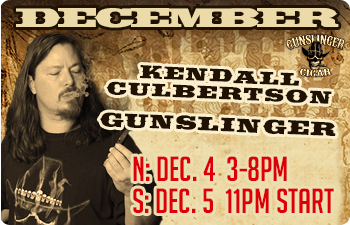 December-Gunslinger Cigar